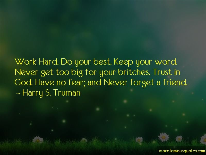 Harry S. Truman Quotes Pictures 4