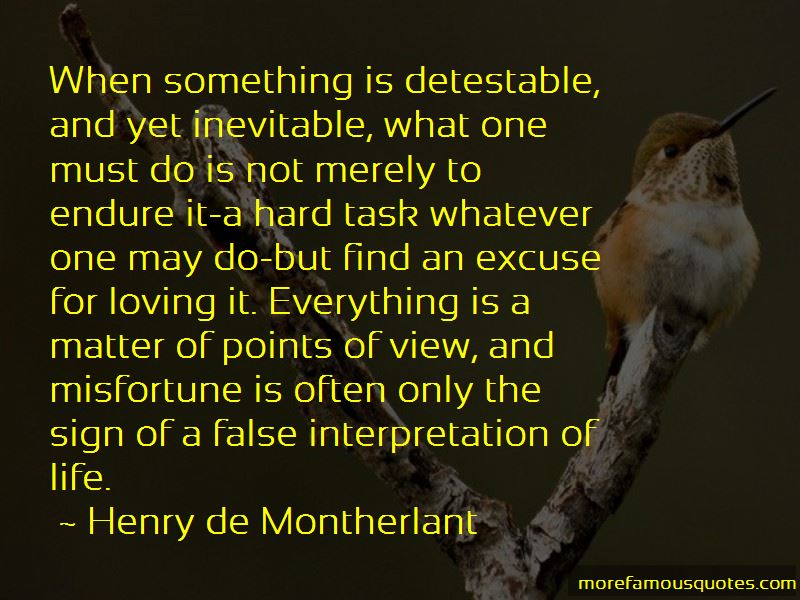 Henry De Montherlant Quotes Pictures 2