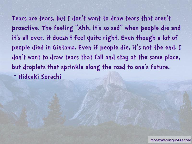 Hideaki Sorachi Quotes Pictures 3