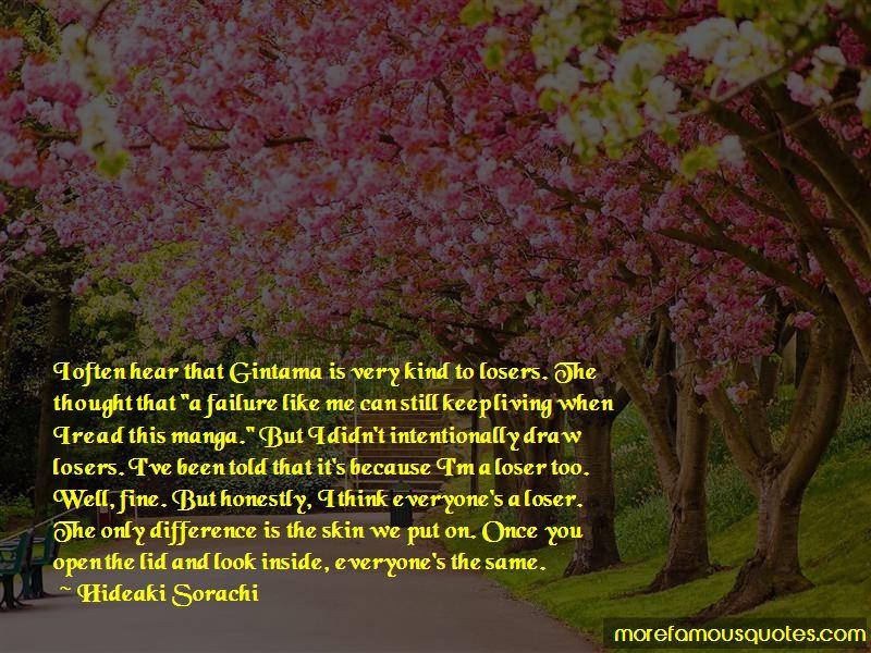 Hideaki Sorachi Quotes