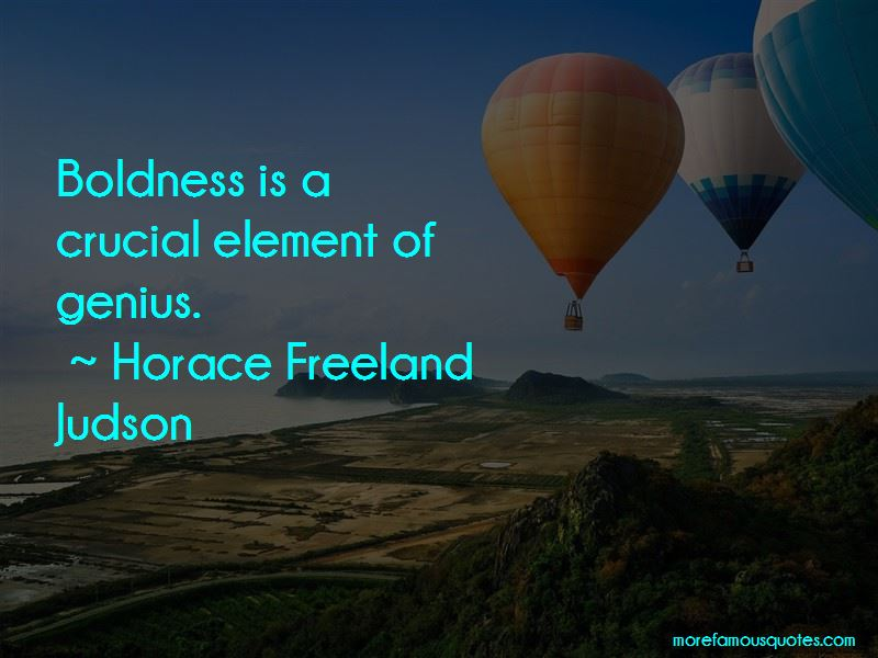 Horace Freeland Judson Quotes