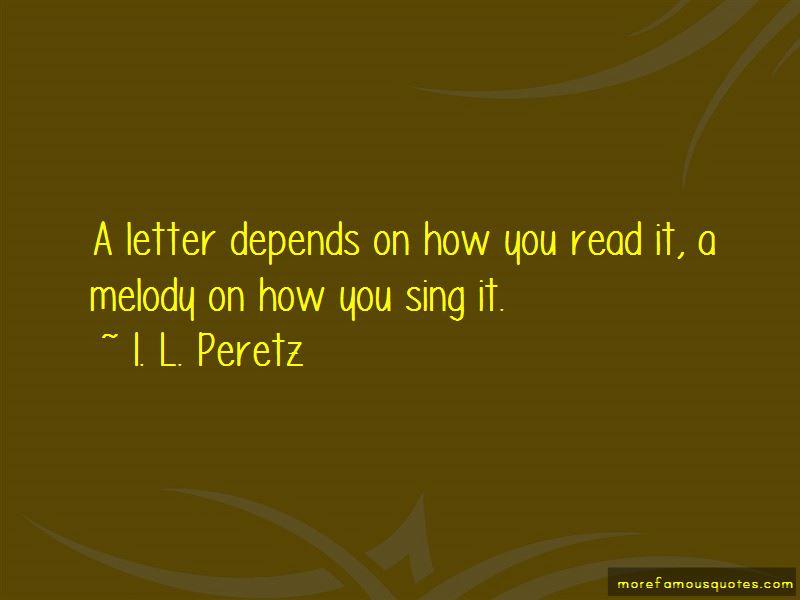 I. L. Peretz Quotes