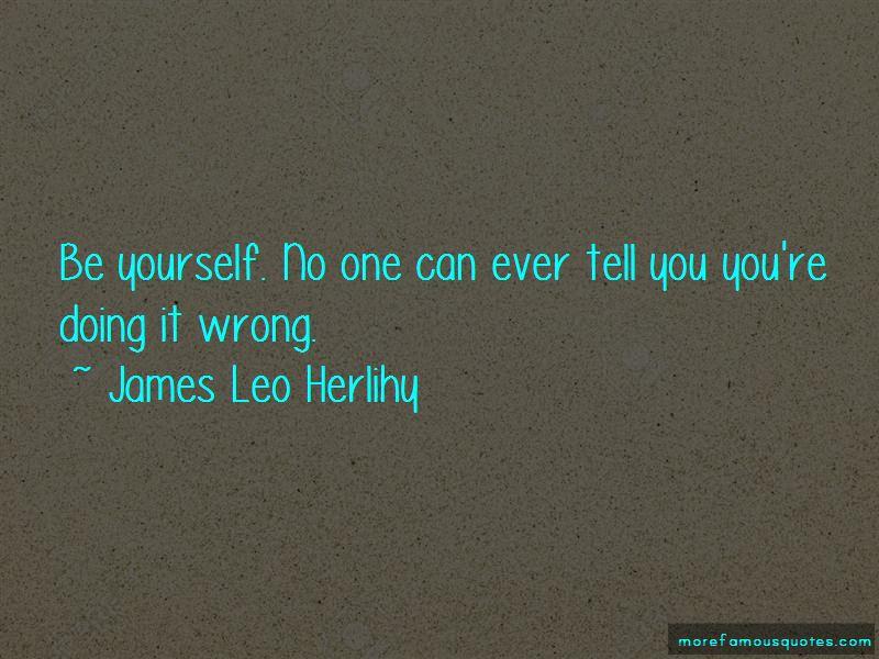 James Leo Herlihy Quotes