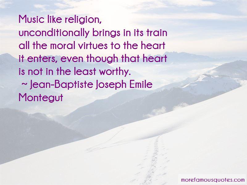 Jean-Baptiste Joseph Emile Montegut Quotes