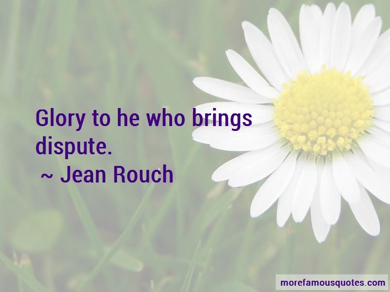 Jean Rouch Quotes