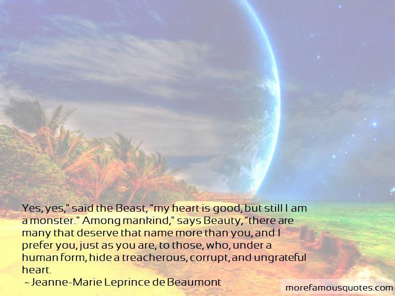 Jeanne-Marie Leprince De Beaumont Quotes Pictures 2