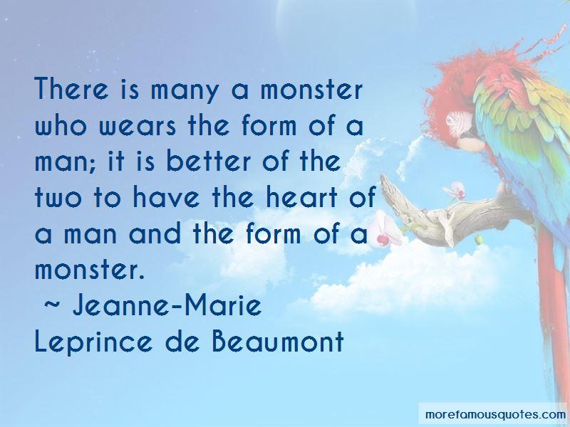 Jeanne-Marie Leprince De Beaumont Quotes Pictures 3