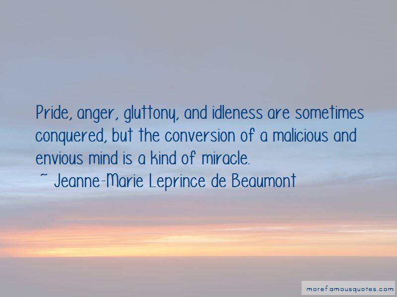 Jeanne-Marie Leprince De Beaumont Quotes