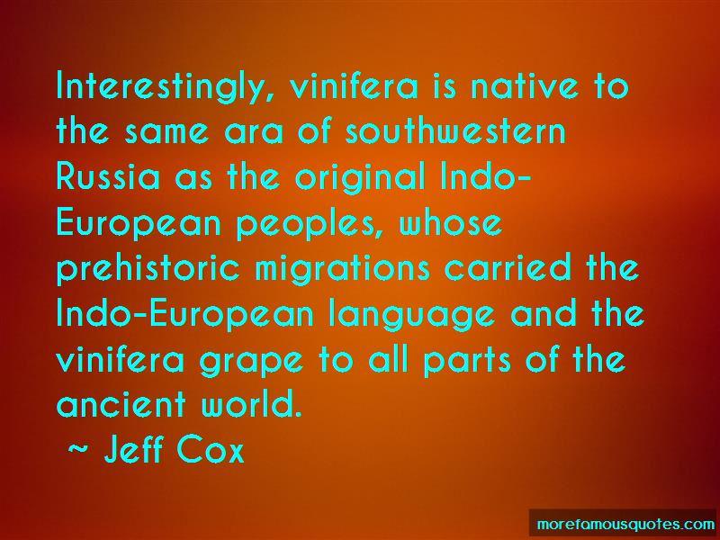 Jeff Cox Quotes