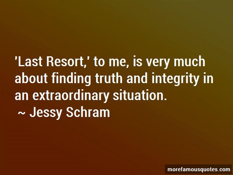 Jessy Schram Quotes Pictures 2