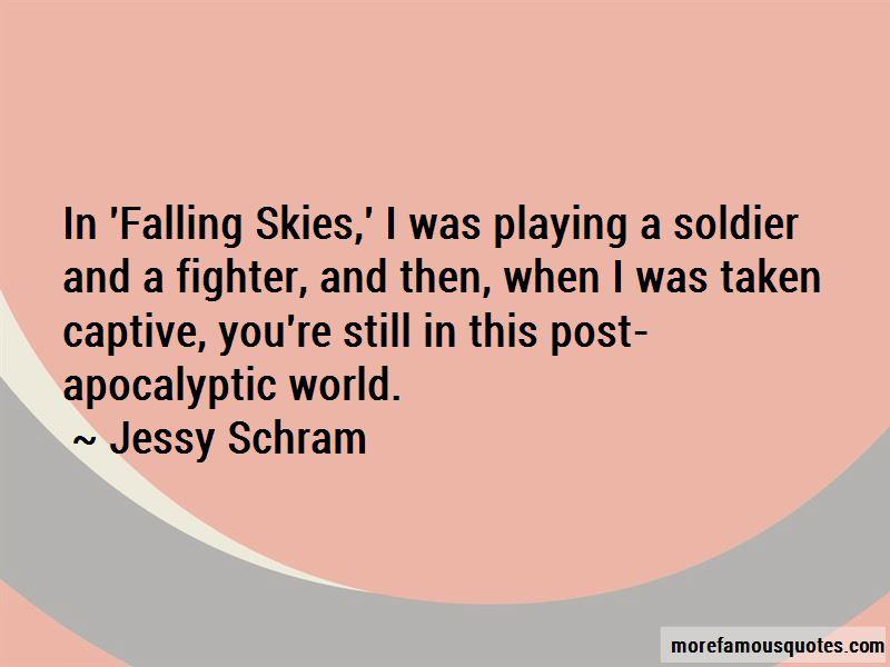 Jessy Schram Quotes Pictures 4