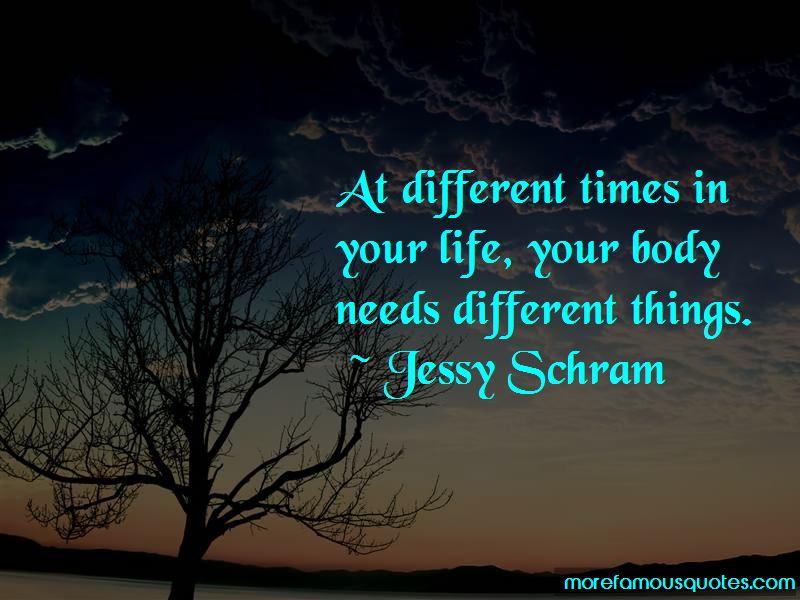 Jessy Schram Quotes