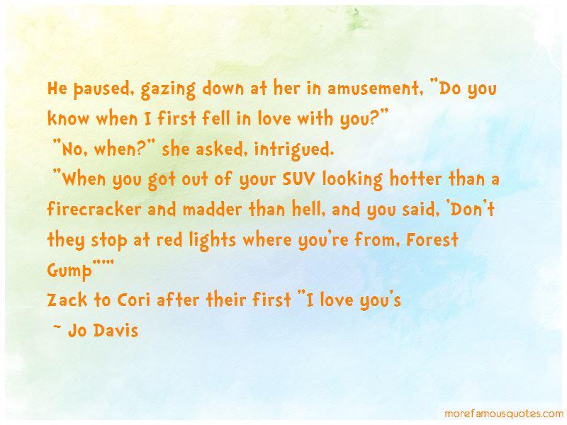 Jo Davis Quotes