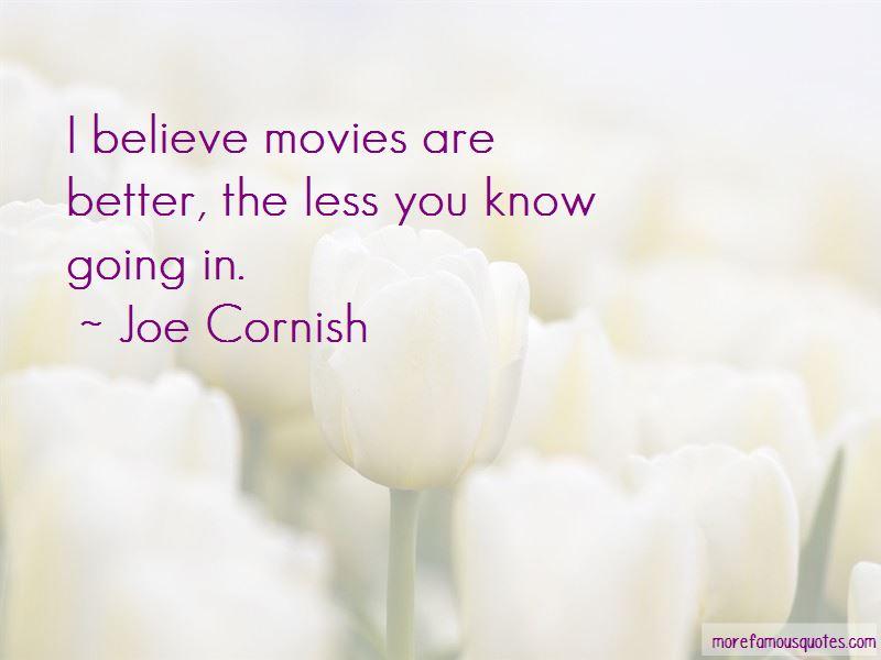 Joe Cornish Quotes Pictures 2