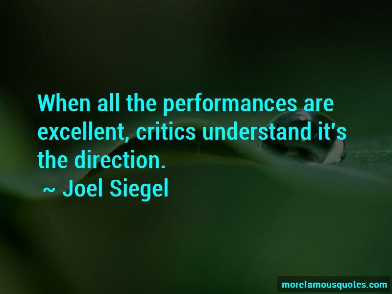Joel Siegel Quotes Pictures 4