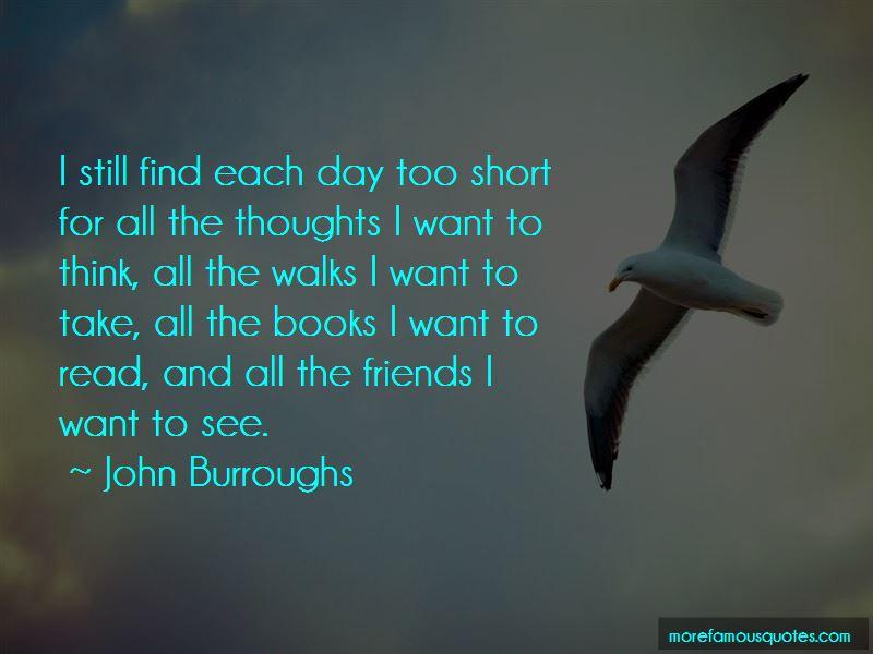 John Burroughs Quotes Pictures 2