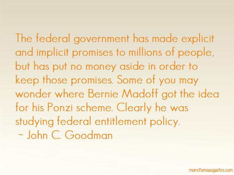John C. Goodman Quotes
