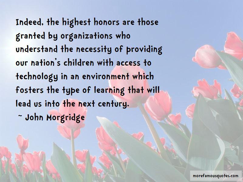 John Morgridge Quotes