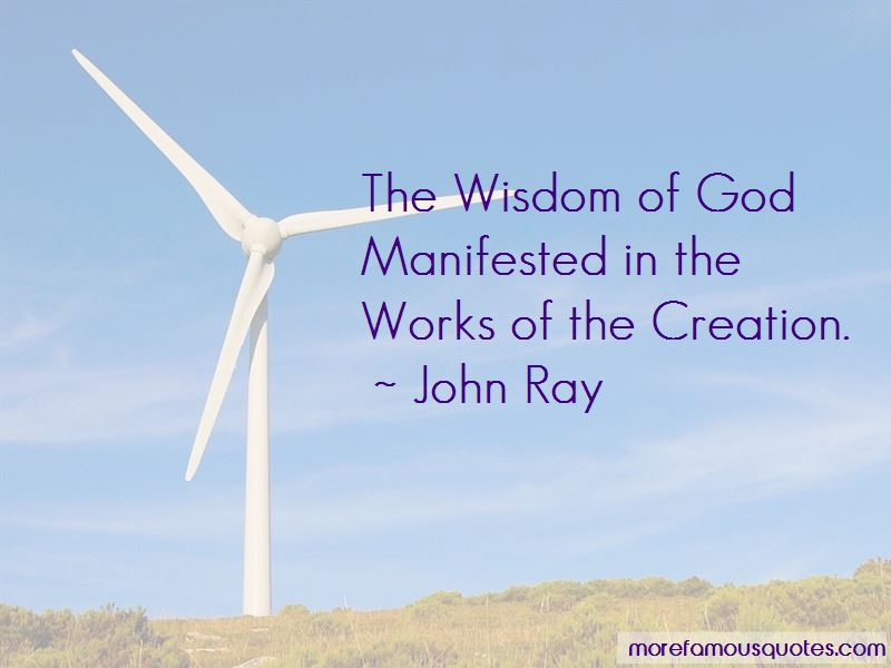 John Ray Quotes Pictures 3