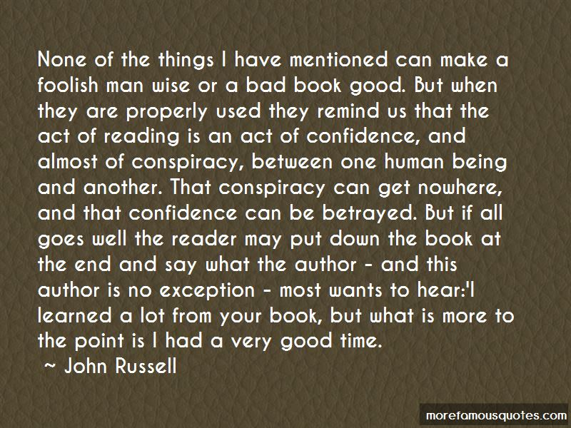 John Russell Quotes Pictures 2