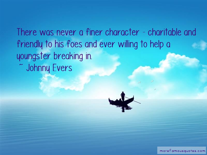 Johnny Evers Quotes Pictures 2