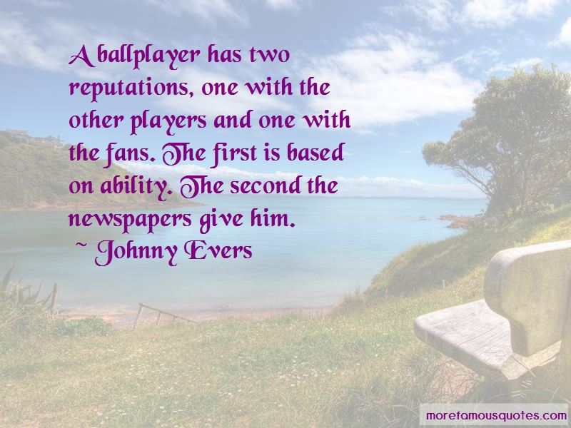 Johnny Evers Quotes Pictures 3
