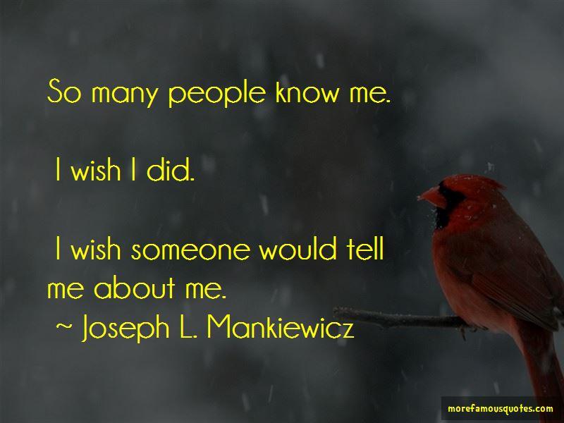 Joseph L. Mankiewicz Quotes Pictures 2