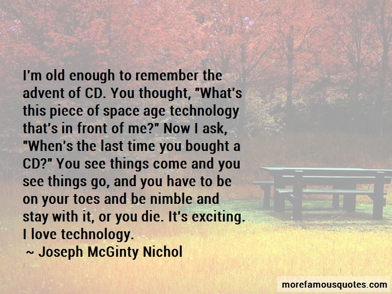 Joseph McGinty Nichol Quotes Pictures 4