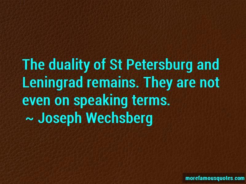 Joseph Wechsberg Quotes Pictures 2
