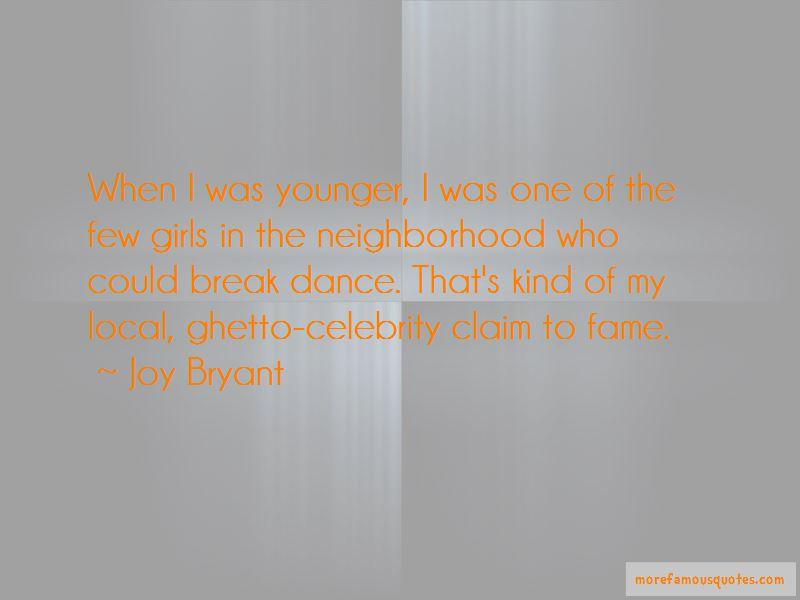 Joy Bryant Quotes Pictures 4