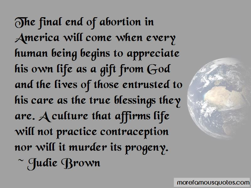 Judie Brown Quotes