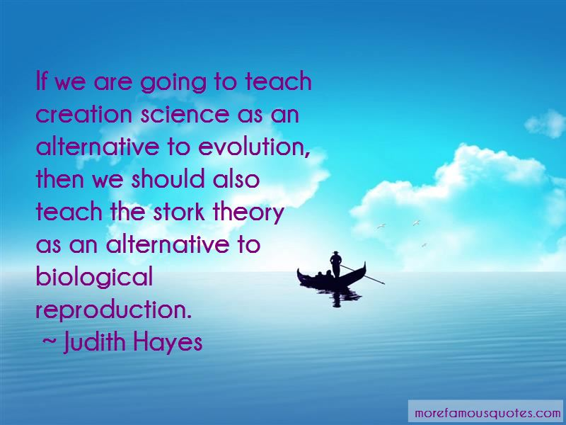 Judith Hayes Quotes