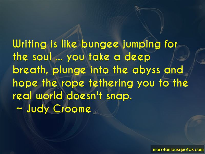 Judy Croome Quotes Pictures 3