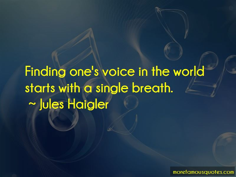 Jules Haigler Quotes Pictures 2