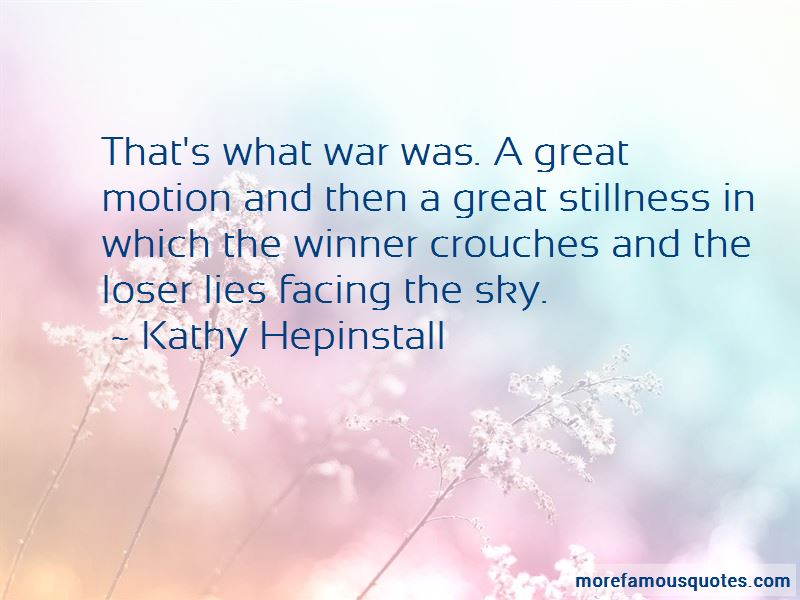 Kathy Hepinstall Quotes