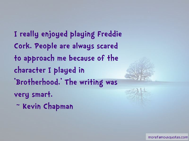Kevin Chapman Quotes Pictures 2
