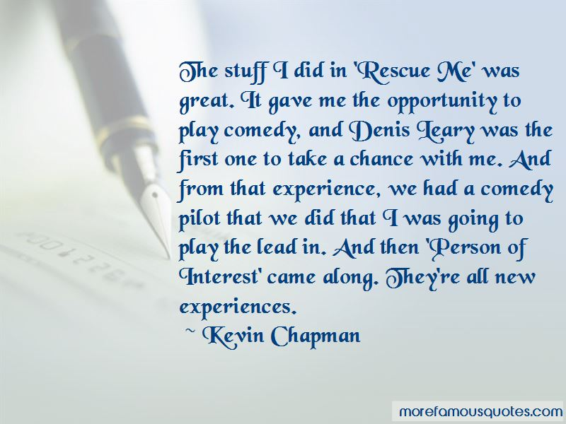 Kevin Chapman Quotes Pictures 4