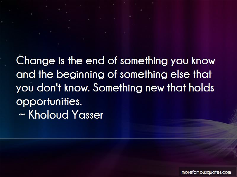 Kholoud Yasser Quotes