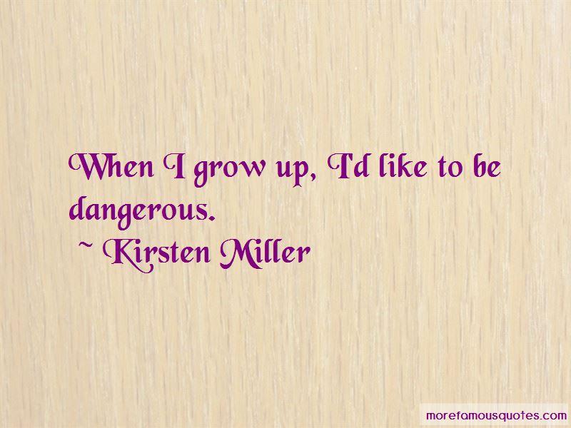 Kirsten Miller Quotes Pictures 2