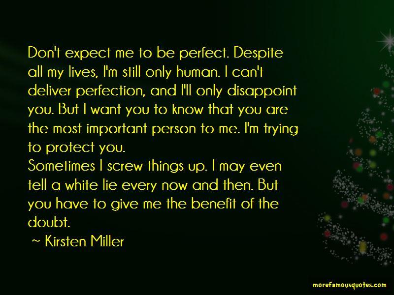 Kirsten Miller Quotes