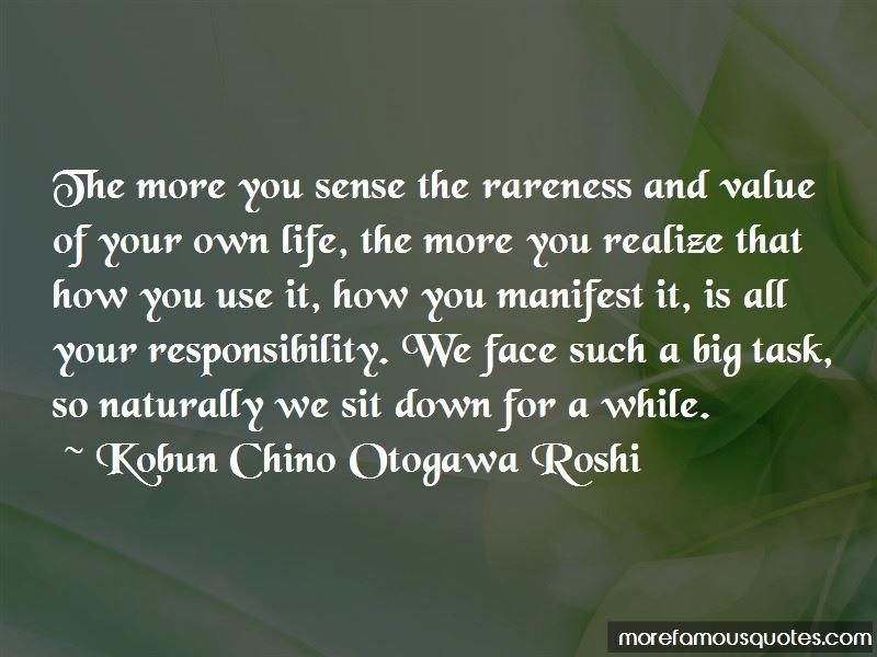 Kobun Chino Otogawa Roshi Quotes Pictures 2