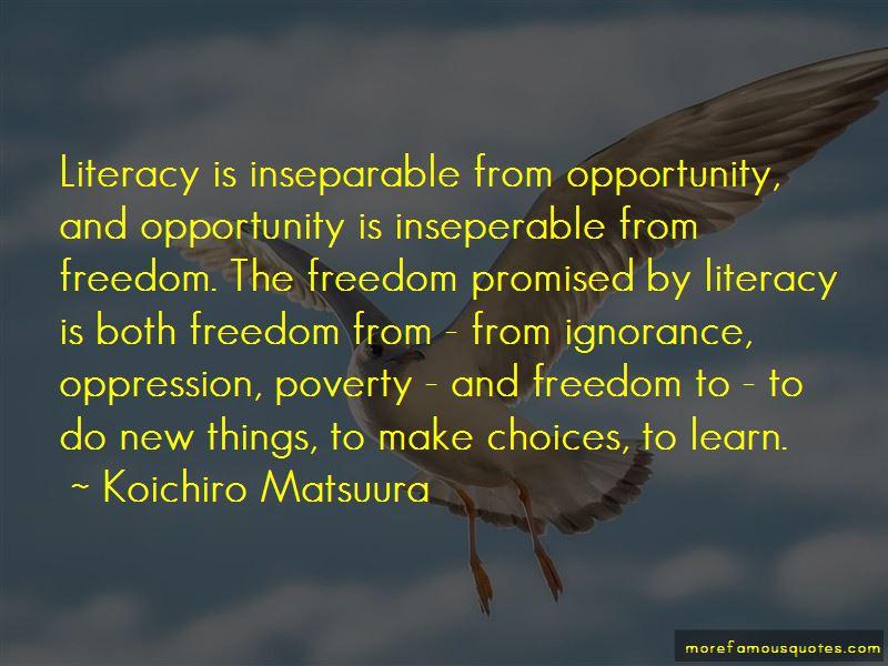 Koichiro Matsuura Quotes Pictures 4