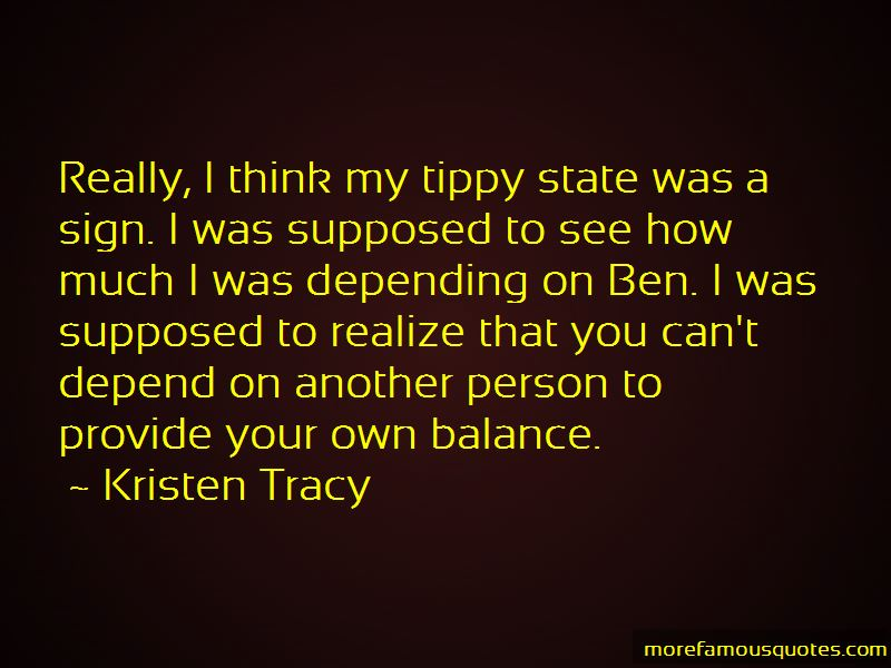 Kristen Tracy Quotes Pictures 3