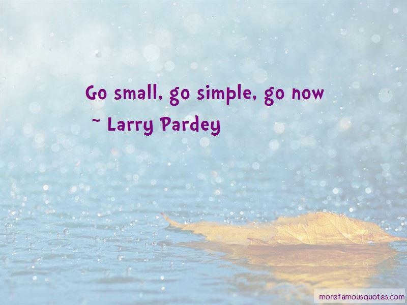 Larry Pardey Quotes