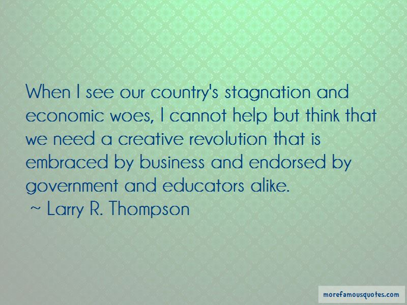 Larry R. Thompson Quotes Pictures 3