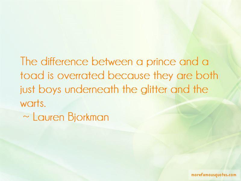 Lauren Bjorkman Quotes Pictures 3