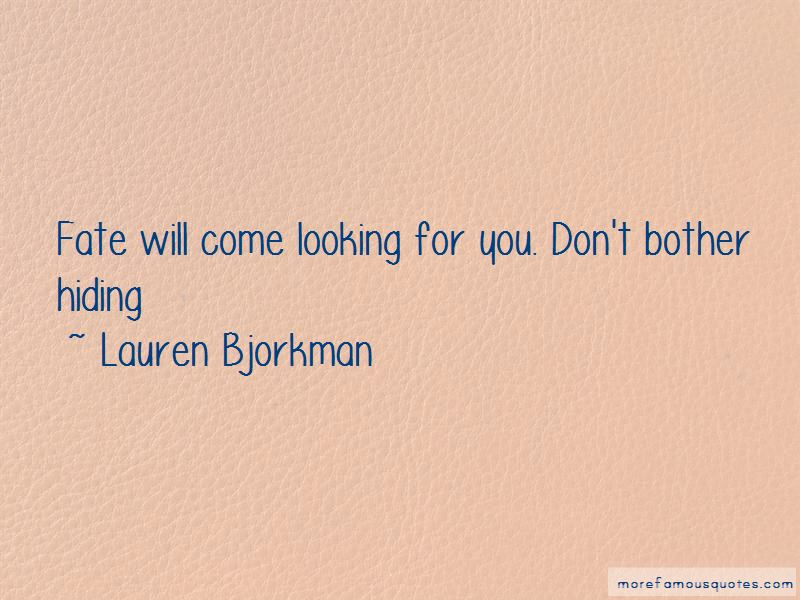 Lauren Bjorkman Quotes Pictures 4