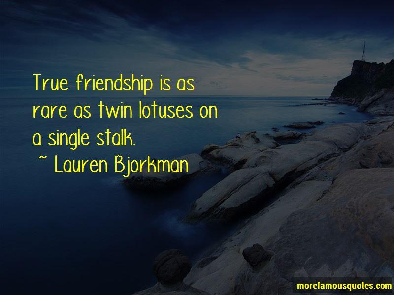 Lauren Bjorkman Quotes