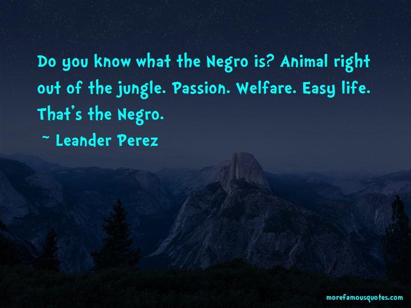Leander Perez Quotes