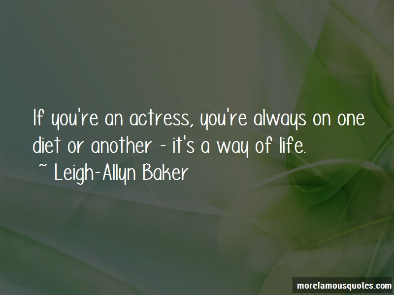 Leigh-Allyn Baker Quotes Pictures 2